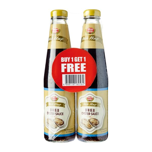 WOH HUP Oyster Sauce Twin Pack (2 x 500GM)