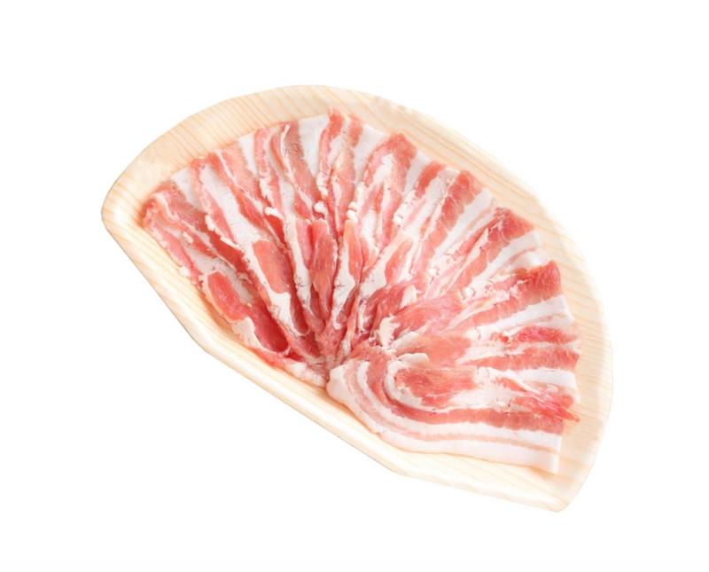 FROZEN BRAZIL PORK BELLY SHABU - 500GM