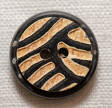 Horn Button - Round Wave