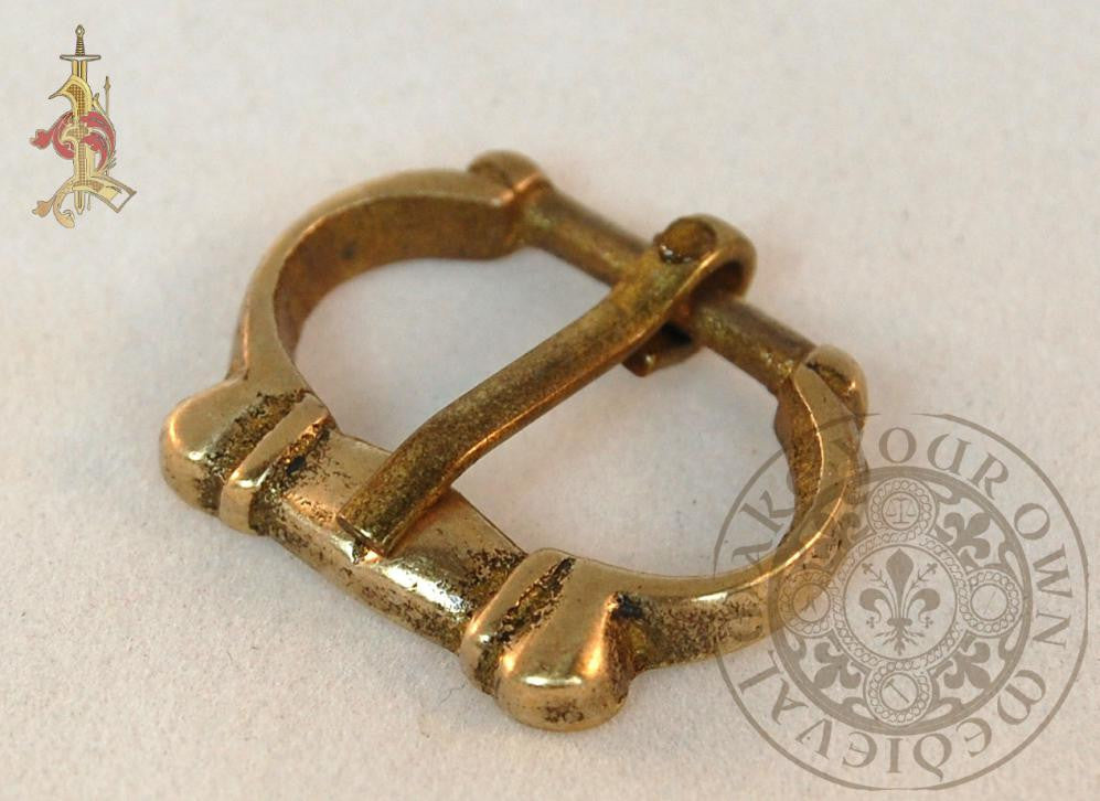 1200 - 1400  Medieval Belt Buckle Small - 12mm Strap Width