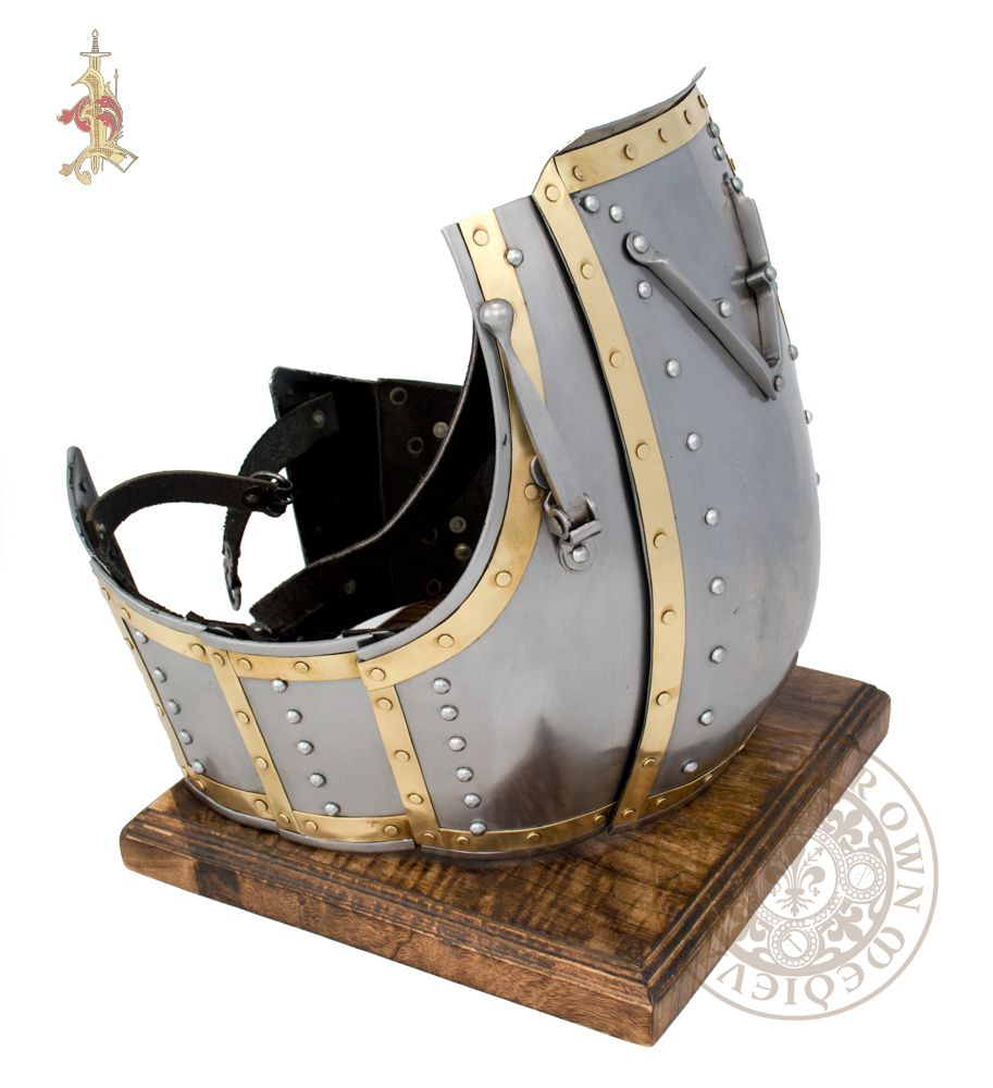 14th century Medieval reenactment combat functional churburg armour cuirass