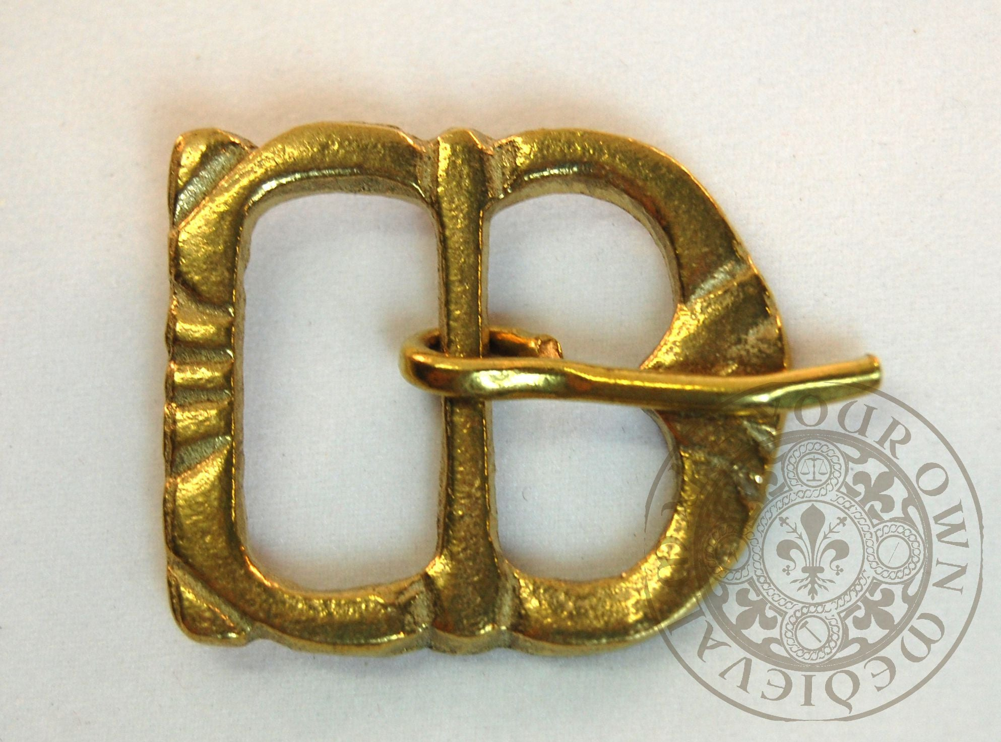 14th century  belt buckle Asymmetrical Medieval