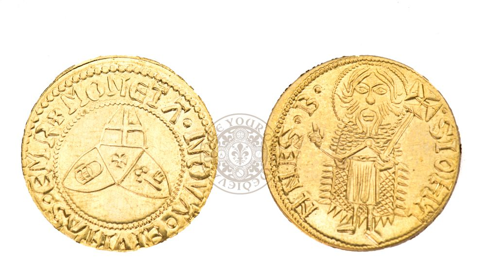 (1436 to 1449) German Gold-Gulden Coin