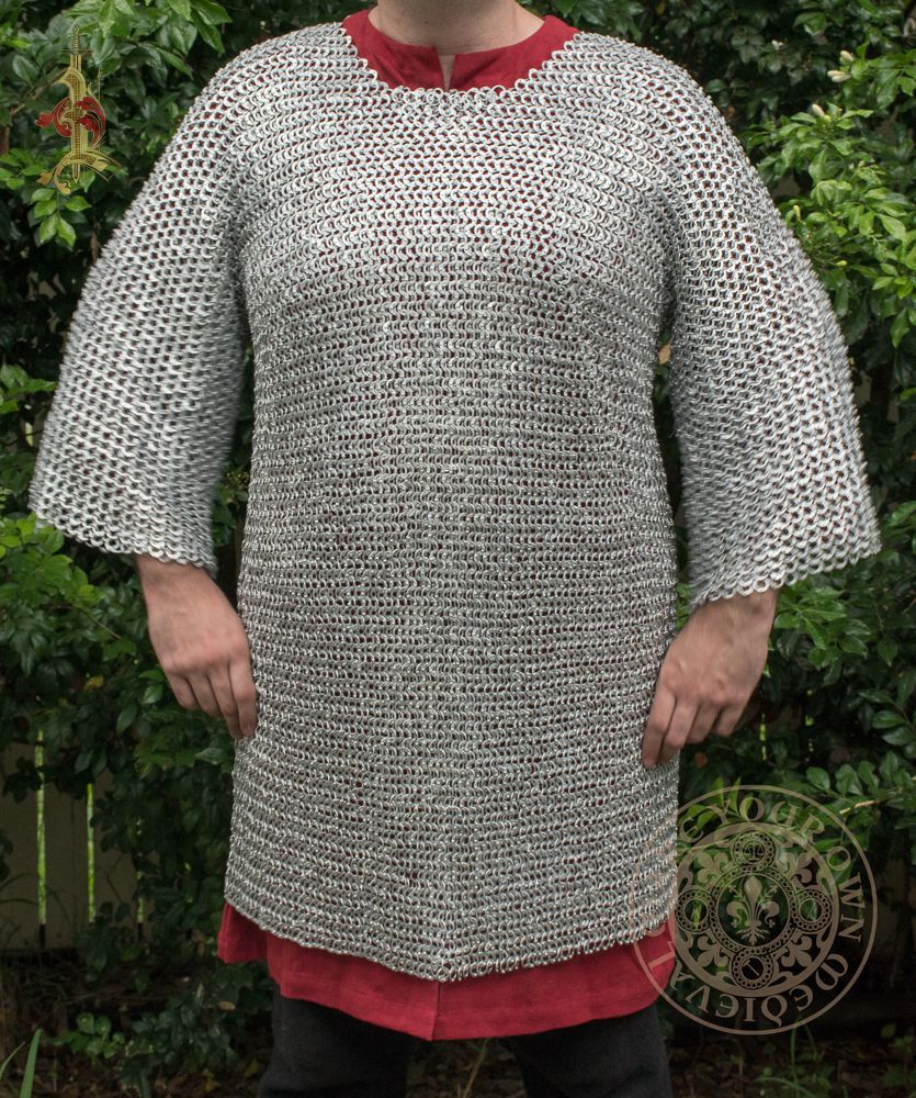 Aluminium chainmail for LARP, theatres and movies in Australia