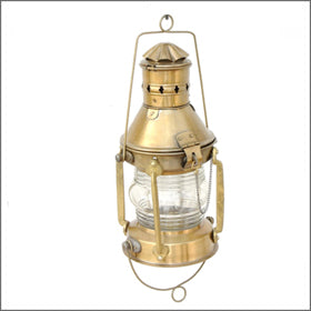 Antique Marine Ship Lantern made from brass