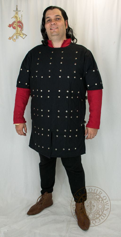 Brigandine Medieval Armour functional combat reenactment, LARP and SCA gear