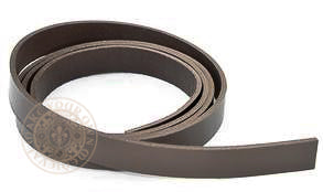 Brown Belt Blank 38mm