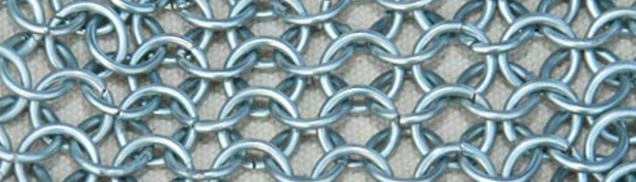 Butted chainmail rings avilable per kg loose