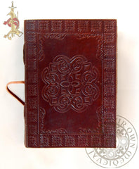 Celtic Leather Journal Circle Pagan
