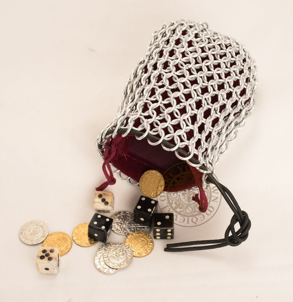 Chainmail Gaming Dice Bag
