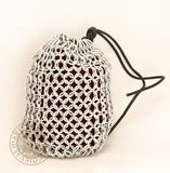 medieval roleplaying Chainmail dice bag