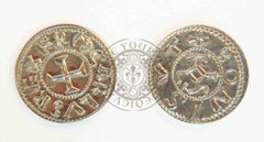 Charlemagne (Franks) Denier Coin Reproduction