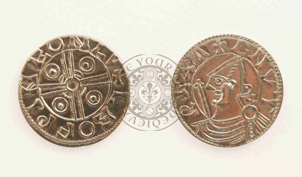 1016 - 1035 Cnut (Canute) Viking Penny Coin
