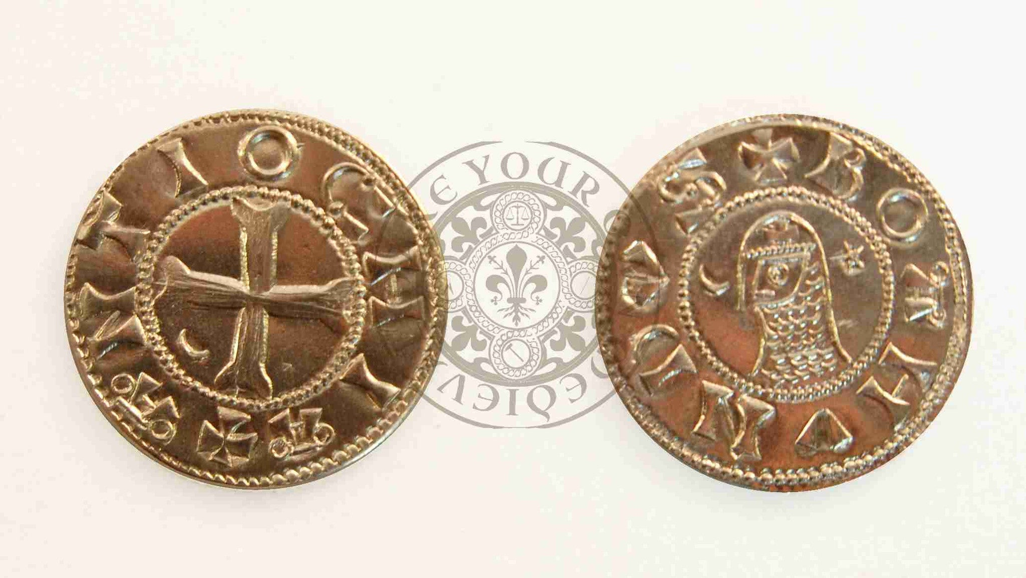 Crusader Coin Reproduction Antioch Bohemond Denier