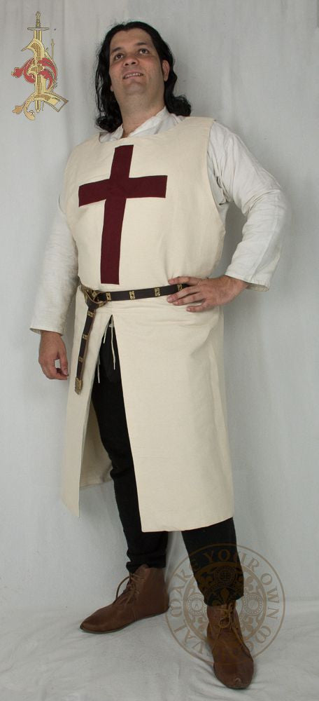 Crusader Tabard tunic Medieval clothing costume