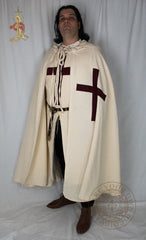 Crusader cape and tabard complete costume