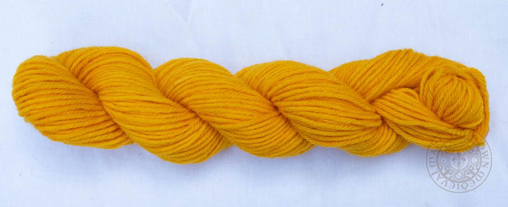 Saffron Sunshine 8ply Wool Yarn