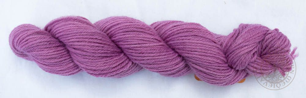 Cochineal Grape 8ply Wool Yarn