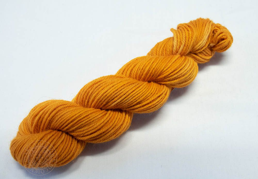 Fustic Gold 8ply Wool Yarn