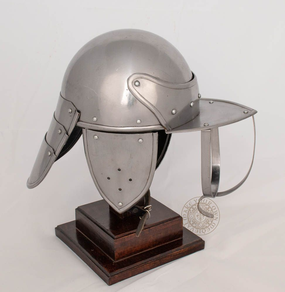 English Civil War Lobster Tailed Helm