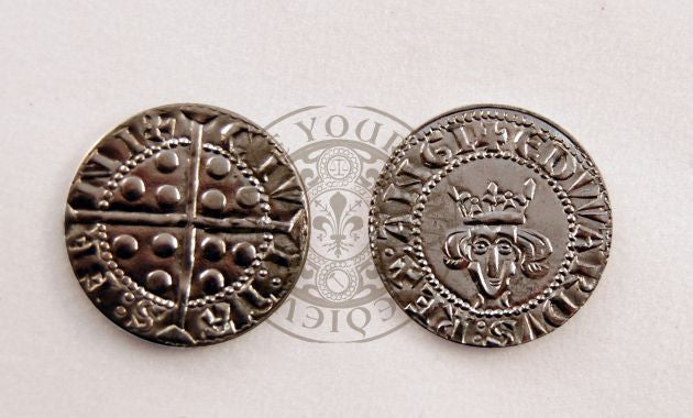 English medieval coin reproduction