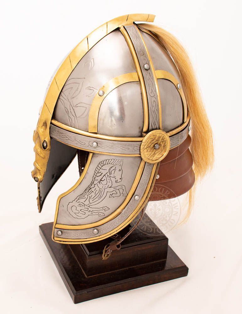 Eomer rohan helmet from the lord of the rings