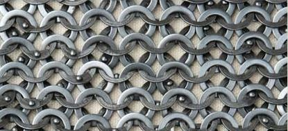 Loose Chainmail Rings 9mm 17g Flat Ring. Includes Round Rivets