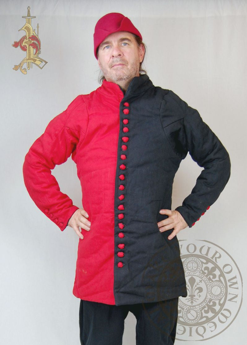 Gambeson padded Medieval jacket for Reenactment combat