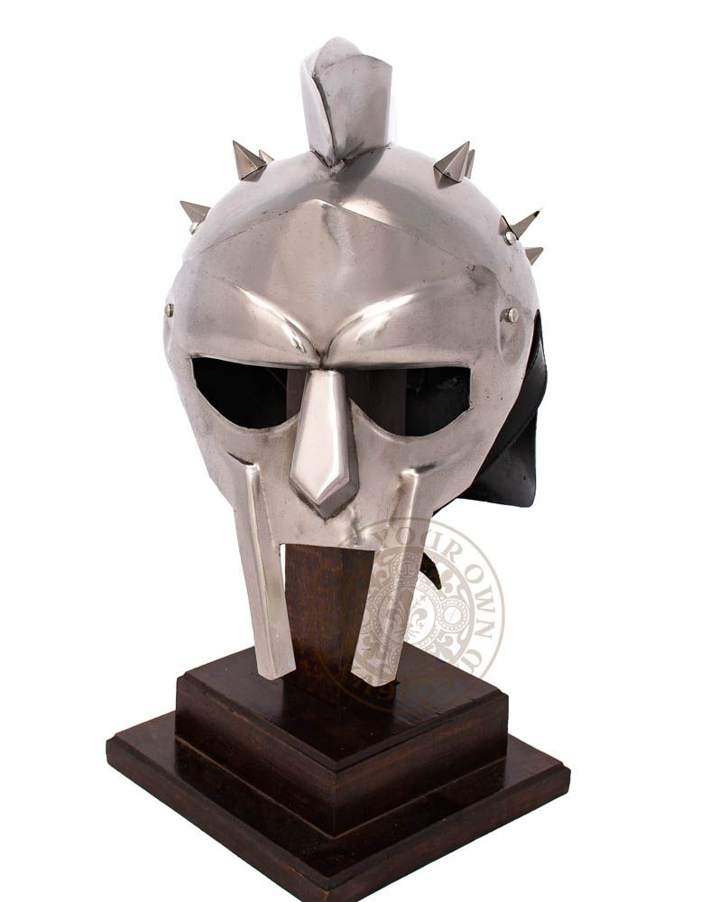 Gladiator movie reproduction helmet worn by general Maximus