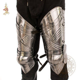 Gothic 15th century leg armour harness