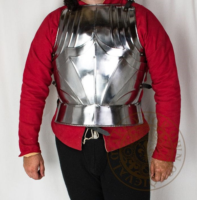 Gothic medieval knights plate armour cuirass breastplate reproduction