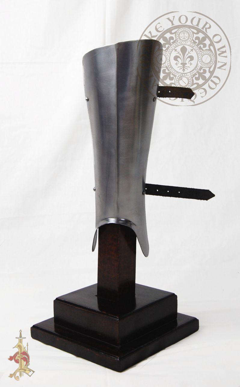 Greave medieval leg combat armour reproduction for LARP, SCA and reenactment