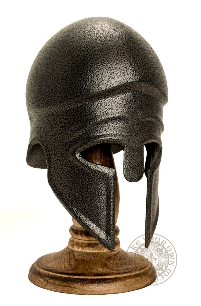 Mini Greek Corinthian Helm with Stand