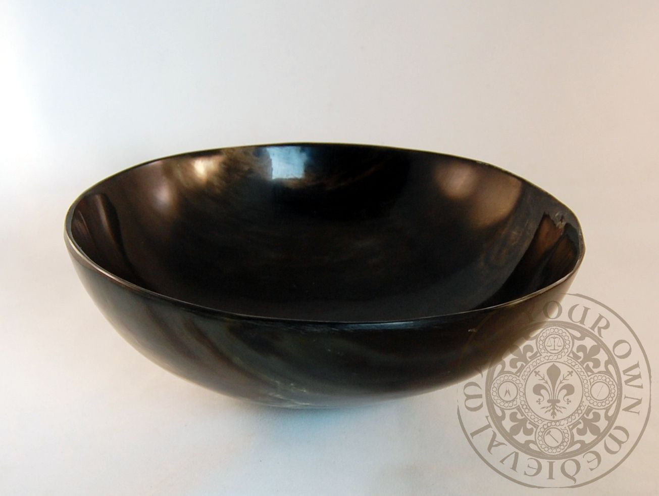 Horn bowl for Viking, Dark Ages and Medieval reenactment, LARP and living history