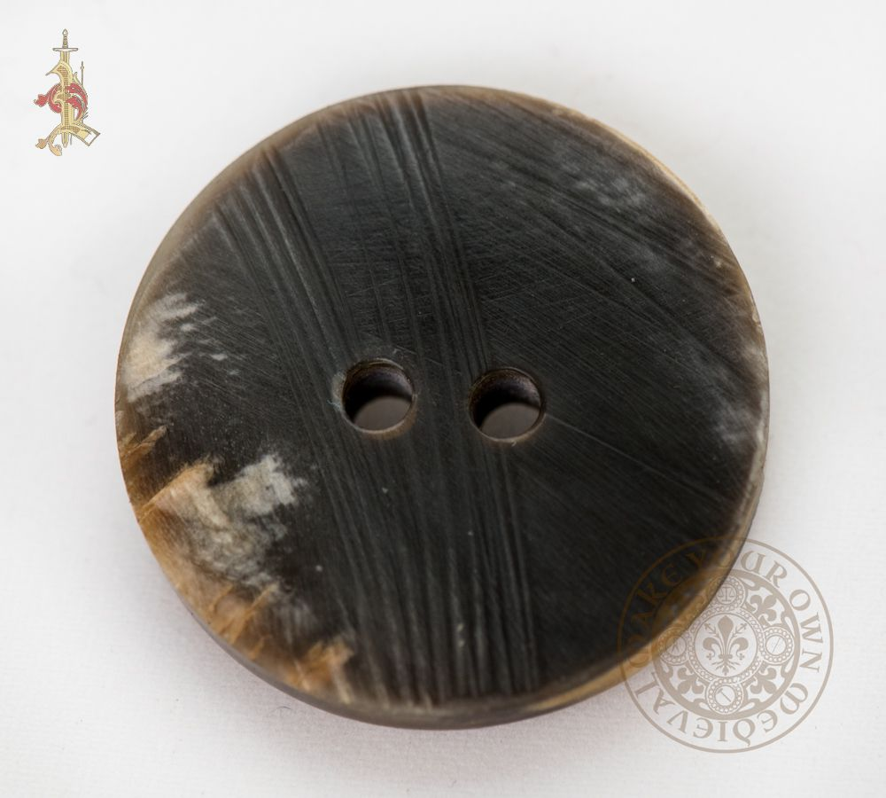 "Round Horn Button 26mm (1"")"