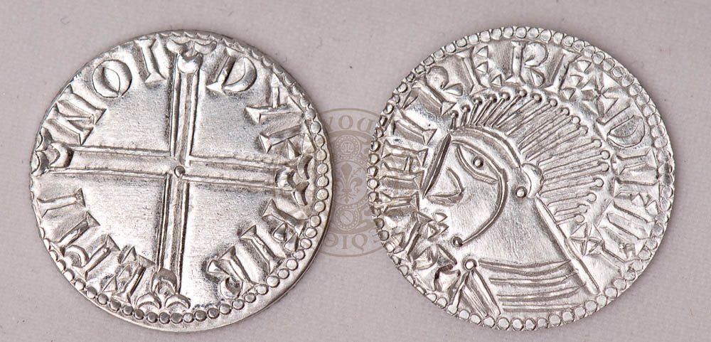 Irish Viking 10th and 11th century reproduction Coin