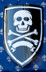 Jolly Roger Pirate Shield