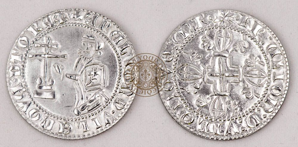 Knights of St John crusader reproduction coin