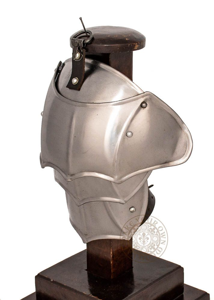 LARP plate spaulders armour