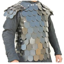 Lamellar Scale armour middle eastern and mongolian asian armour