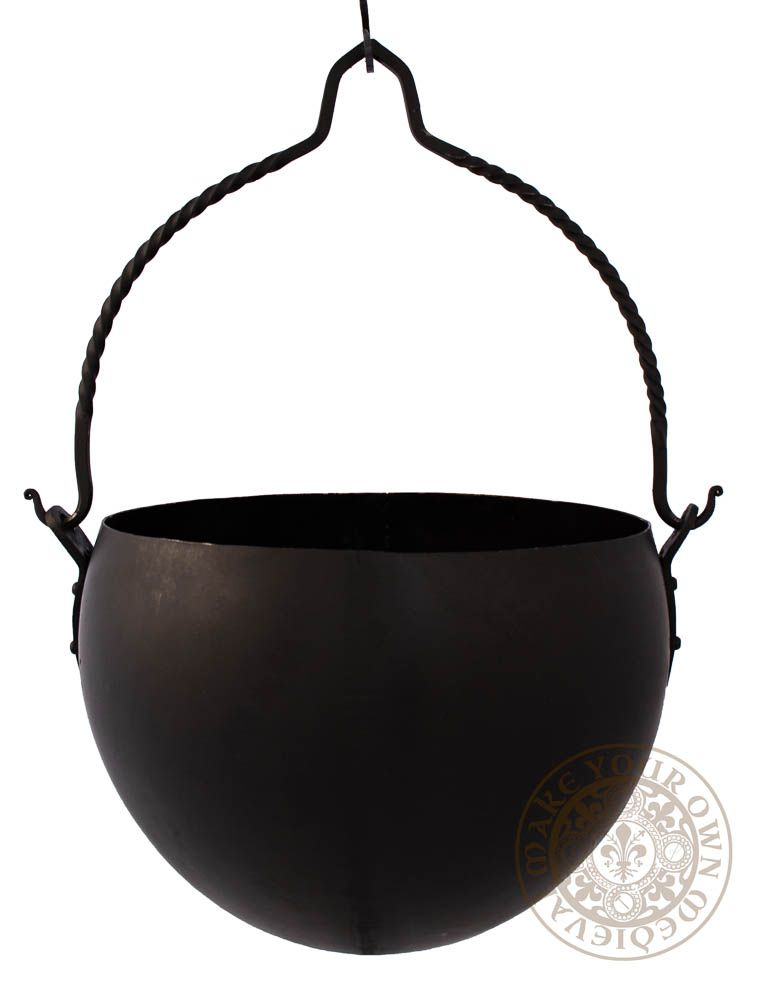 Large metal Cauldron for Viking Reenactment