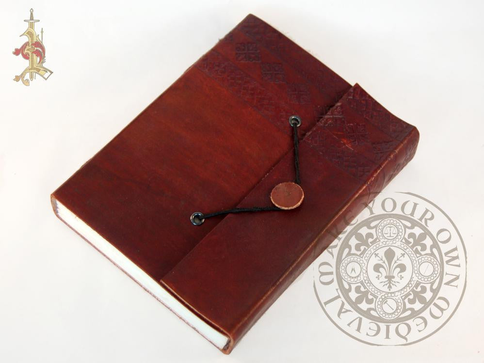 Leather Journal With Flap Closure