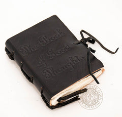 Little black book made from leather