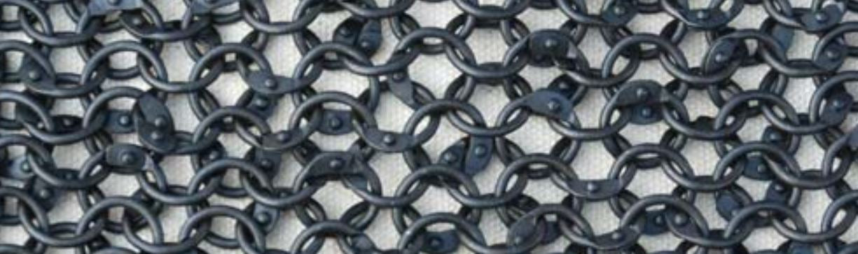 Loose Chainmail Rings 9mm 18g Round Ring. Includes Round Rivets Bulk Discounted