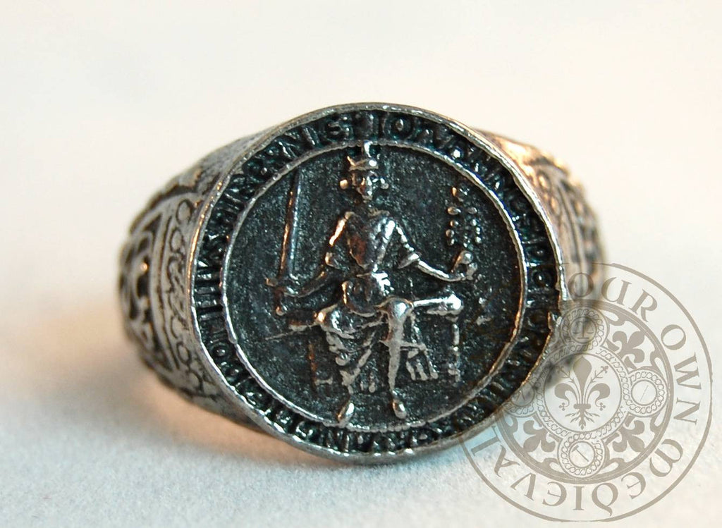 Magna Carta Pewter Ring