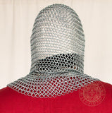 Mail coif crusade and viking armour 1402ZP
