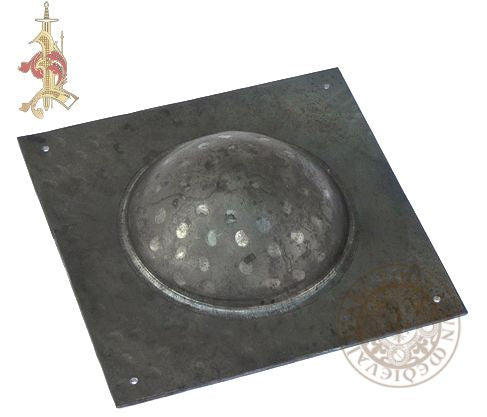 Square Roman Shield Boss 14 Gauge