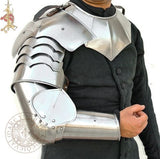 LARP Medieval Arm and shoulder armour harness