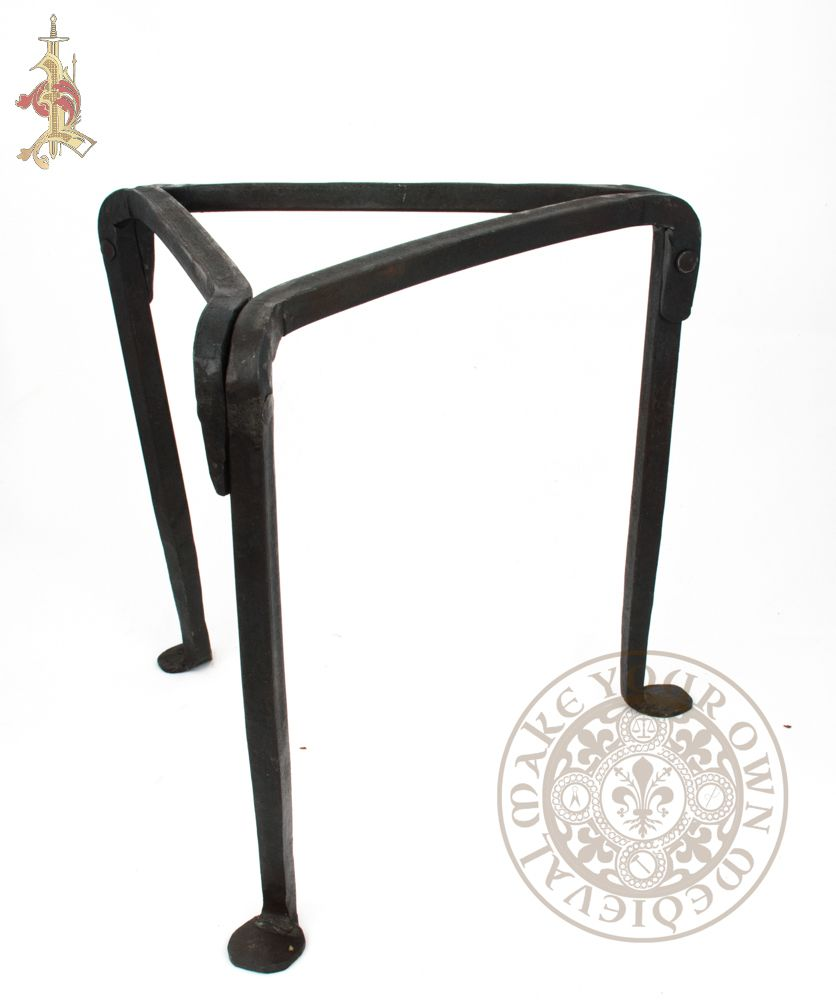 Medieval or Viking Trivet Tripod Cooking Stand