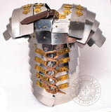 Mini Lorica Segmentata Armour made from stainless steel
